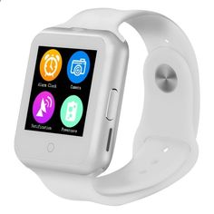 Phone Watch - NO.1 D3 GSM Smart Watch Phone 1.22 Capacitive Touch Screen MTK6261 Bluetooth 3.0 Metal Frame Stylish Design Simple OS Text Check Dial Phone Book Music Camera Remote Photo Taking