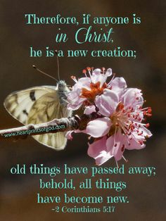 A new creation in Christ❤️