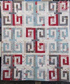 Barn Raising Quilt Pattern Free Knitting : Moda Bake Shop: 30s Barn Raising 1 jelly roll free pattern Quilts & Quilty Inspiration ...