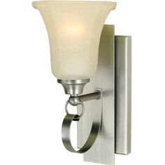 Royce Lighting RV5111/1-965 Winslow Collection One Light Vanity Bathroom Light, Antique Brushed Nickel Finish with Cream Snow Glass by Royce Lighting. $41.95. The Winslow Collection embodies traditional mission style with its chambered glass shades and overlapping back plate design. The antique brushed nickel finish combined with the cream snow glass on this one light bathroom fixture will add a sense of comfort to your bath area. This light extends 6 ¾-Inch. It is ...