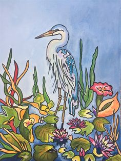 I am a tropical artist from Bradenton, FL. My goal is to bring my art to you through a wide array of colorful purses for the tropical lifestyle. Here's to livin' the beach life thru a tropical world of color. Tropical Colors, Tropical Art, Ship Art, World Of Color, Love Painting, Beach Art, Wall Murals, Original Artwork, My Arts