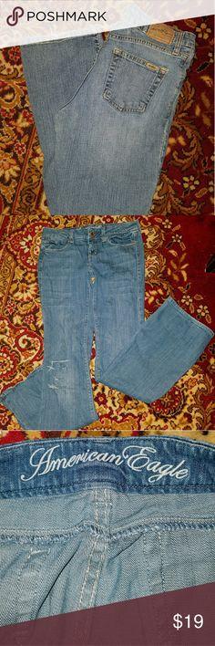 American Eagle Jeans Size 2 Reg *EUC* EUC American Eagle Outfitters Jeans Flare & Wide Leg