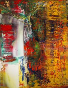 Gerhard Richter (German, born 1932), Abstract Painting (613-3), 1986. Oil on canvas, 260.7 x 203 cm. Collection of Preston H. Haskell, Class of 1960. © Gerhard Richter 2014 / photo: Douglas J. Eng