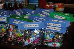 Great Idea for Aliza's Bday at school! Cute idea for party favors