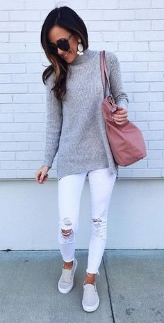 How to wear fall fashion outfits with casual style trends Street Style Outfits, Street Style Trends, Street Style Women, Fashion Outfits, Womens Fashion, Fashion Trends, Fashion Ideas, Casual Day Outfits, Spring Outfits