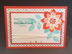 Stampin' Sacha: There's something really worth celebrating today.....