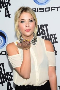 Ashley Benson: Just Dance 4 Launch Party: Photo Ashley Benson hits up the Just Dance 4 launch party held at Lexington Social House in Hollywood on Tuesday night (October The actress caught up… Old Actress, American Actress, Ashley Benzo, Pretty Littleliars, Just Dance 4, Prettiest Actresses, Family Tv, Woman Crush, Cute Girls