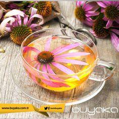 Günaydın. Gribe karşı direncinizi artırmak için haftaya ekinezya çayı ile başlamanızı öneririz. :) #Buyaka #Pazartesi #Kış #BuyakaBiBaşka