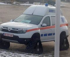 The car manufacturer from Mioveni, Romania, Dacia, tests new prototypes of cars which could be launched into production. Car Manufacturers, Ambulance, Product Launch, Van, The Unit, Romania, Type 3, Vehicles, Theater