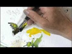 Painting Flowers in Watercolor with Charles Reid, Part 2