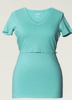 Short Sleeve Dresses, Dresses With Sleeves, Nursing Tops, Maternity Nursing, Spring 2015, Maternity Fashion, V Neck Tops, New Moms, Breastfeeding