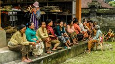 Let's see this post from bikooch. I got this shot in Bali / Indonesia .. colorful but tired people!