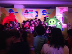 Dream Theatre's Licensor Rovio, Angry Birds appearance at World Children Expo 2014.