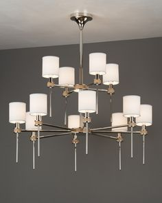 Boyd Lighting | Fixtures | Fixture Catalog | Topanga I Chandelier 2-Tier Diameter 44 1/4; 1124 mm Frame Height 31 5/8; 803 mm