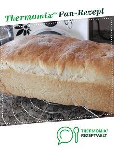 Thermifees zartes Kastenweißbrot (Stuten) von Thermifee. Ein Thermomix ® Rezept aus der Kategorie Brot & Brötchen auf www.rezeptwelt.de, der Thermomix ® Community.
