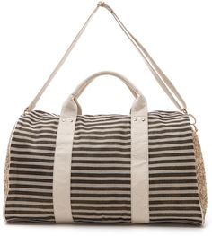 Weekender Bag: #DeuxLux stripe and sequin