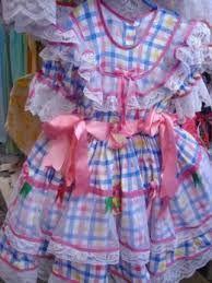 Resultado de imagem para vestidos de festa junina infantil Country Dresses, Hulk, Doll Clothes, Harajuku, Little Girls, Sewing, Fashion, Hillbilly Costume, Hillbilly Party