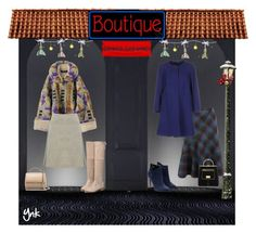 """""""Boutique"""" by ynk24 ❤ liked on Polyvore featuring moda, M&Co, Rupert Sanderson, Tara Jarmon, Givenchy e Balmain"""
