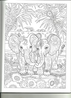 Coloring Pages Fun Time Elephants To Color Printable Elephant Books Colouring Sheets