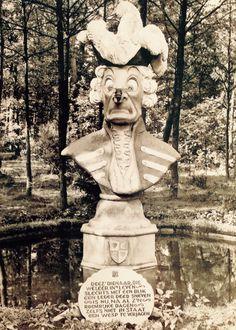 Kogeloog stond vroeger in het Sprookjesbos van de Efteling