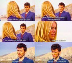 sweet bad wolf bay scene on doctor who