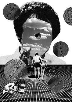duchamp collage  DAJA  https://es.pinterest.com/danijavor/