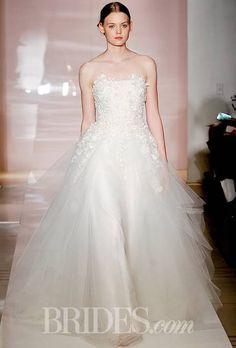 Reem Acra Wedding Dresses Fall 2014 Kristina