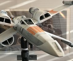 Delightful McQuarrie X Wing 1:24 Scale. Casting By FM Sci Fi Models / Build By Patrick  Reilly | Sci Fi Scale Models | Pinterest | Sci Fi Models, Ralph Mcquarrie  And ...