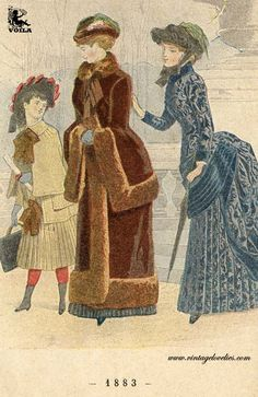 1883 Women's Fashion, Painting, Art, Art Background, Fashion Women, Womens Fashion, Painting Art, Kunst