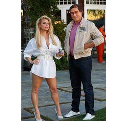 Pin for Later: Elles Se Sont Déguisé en Quoi les Célébrités Cet Halloween? Jessica Simpson et Eric Johnson