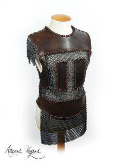 Nordic fantasy armor. https://www.instagram.com/ascuasnegras/