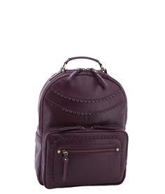 Spencer and Rutherford - Handbags - Back Pack - Pippa - Purple Lake