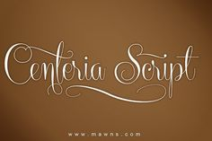 Centeria Script. Script Fonts. $59.00