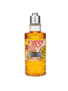 The best new Brazil-inspired beauty products: L'Occitane au Brésil Jenipapo Shower Oil has a tropical scent and a silky result