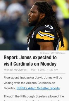 JARVIS JONES F/A SIGNS WITH CARDINALS
