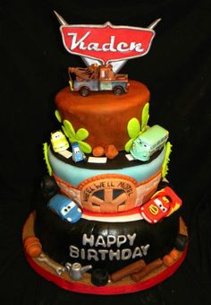 Disney Cars Cake - Looking for Cars Birthday Cake Ideas? See our photo gallery for inspiration and ideas. There are lots of amazing and cool cakes to spark your imagination.