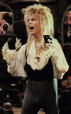 """David Bowie as Jareth The Goblin King, """"Labyrinth"""", Circa 86 🔮 David Bowie Labyrinth, Labyrinth Movie, Labyrinth 1986, David Bowie Goblin King, Jareth Labyrinth, Labyrinth Tattoo, Bowie Heroes, Crotch Shots, Labrynth"""