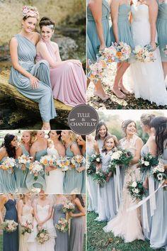 light blue aquamarine spring bridesmaid dresses 2015 trends