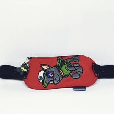 Insulin pump pouch / embroidered Rocky paw patol
