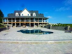 Discover new models of above-ground pools, semi-inground pools, in-ground pools and spas available at your Sima Canada dealer Semi Inground Pools, Pool Installation, In Ground Pools, Swimming Pools, Spa, Mansions, House Styles, Gallery, Home