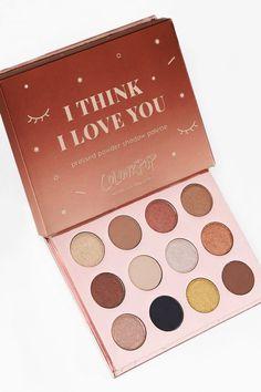 I Think I Love You pressed powder eyeshadow palette