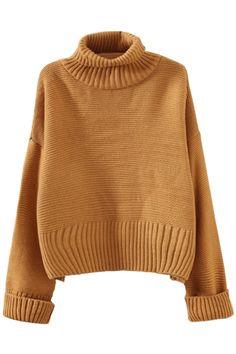 Loose Turtle Neck Sweater