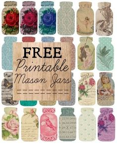 Mason Jar Prints!