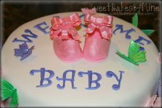 Baby Booties - Out of Gum paste