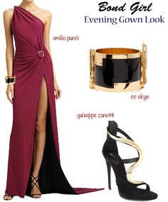 bond-girl-evening-look. Great for World Conference!