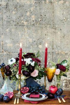 Burgundy red Navy Blue Wedding ideas and decor.