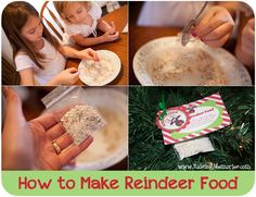 How To Make Reindeer Food at www.RaisingMemories.com #reindeerfood #Christmas