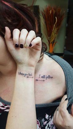 My best friend and I got matching Gilmore Girls tattoos