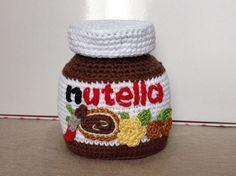 Nutella crochet #amigurumi #sweet #chocolate ganchillo