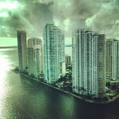 Miami - Key Biscayne from downtown Miami/Brickell Discovered by Andrew at Brickell, #Miami, Florida